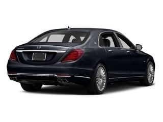 Anthracite Blue Metallic 2016 Mercedes-Benz S-Class Pictures S-Class Sedan 4D S600 Maybach V12 Turbo photos rear view