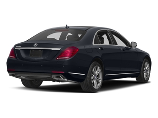Anthracite Blue Metallic 2016 Mercedes-Benz S-Class Pictures S-Class Sedan 4D S550e V6 Turbo photos rear view