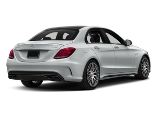 Iridium Silver Metallic 2016 Mercedes-Benz C-Class Pictures C-Class Sedan 4D C63 AMG V8 Turbo photos rear view