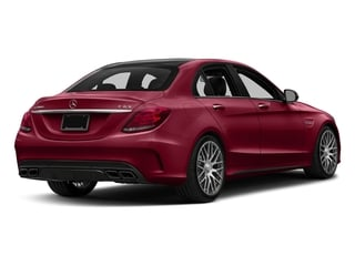 designo Cardinal Red Metallic 2016 Mercedes-Benz C-Class Pictures C-Class Sedan 4D C63 AMG V8 Turbo photos rear view