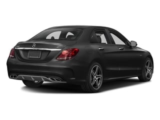 Obsidian Black Metallic 2016 Mercedes-Benz C-Class Pictures C-Class Sedan 4D C450 Sport AMG AWD V6 Turbo photos rear view