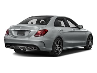 Iridium Silver Metallic 2016 Mercedes-Benz C-Class Pictures C-Class Sedan 4D C450 Sport AMG AWD V6 Turbo photos rear view