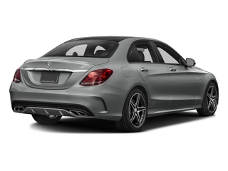 Palladium Silver Metallic 2016 Mercedes-Benz C-Class Pictures C-Class Sedan 4D C450 Sport AMG AWD V6 Turbo photos rear view