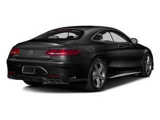 Obsidian Black Metallic 2016 Mercedes-Benz S-Class Pictures S-Class Coupe 2D S63 AMG AWD V8 Turbo photos rear view