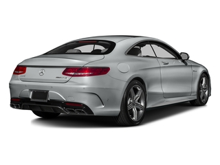 Iridium Silver Metallic 2016 Mercedes-Benz S-Class Pictures S-Class Coupe 2D S63 AMG AWD V8 Turbo photos rear view