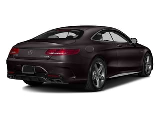 Ruby Black Metallic 2016 Mercedes-Benz S-Class Pictures S-Class Coupe 2D S63 AMG AWD V8 Turbo photos rear view