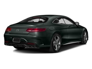 Emerald Green Metallic 2016 Mercedes-Benz S-Class Pictures S-Class Coupe 2D S63 AMG AWD V8 Turbo photos rear view
