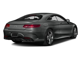 Selenite Grey Metallic 2016 Mercedes-Benz S-Class Pictures S-Class Coupe 2D S63 AMG AWD V8 Turbo photos rear view