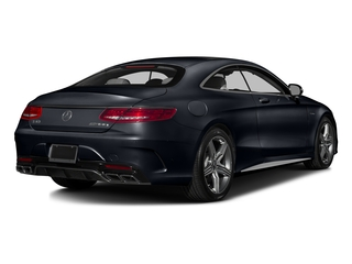 Anthracite Blue Metallic 2016 Mercedes-Benz S-Class Pictures S-Class Coupe 2D S63 AMG AWD V8 Turbo photos rear view