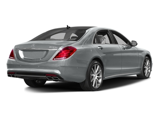 Iridium Silver Metallic 2016 Mercedes-Benz S-Class Pictures S-Class Sedan 4D S63 AMG AWD V8 Turbo photos rear view