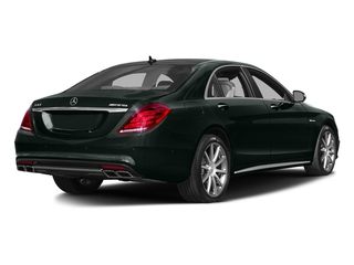 Emerald Green Metallic 2016 Mercedes-Benz S-Class Pictures S-Class Sedan 4D S63 AMG AWD V8 Turbo photos rear view