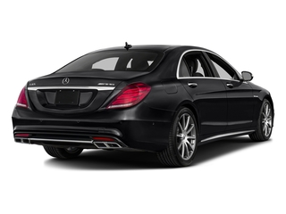 Black 2016 Mercedes-Benz S-Class Pictures S-Class 4 Door Sedan Rear Wheel Drive photos rear view