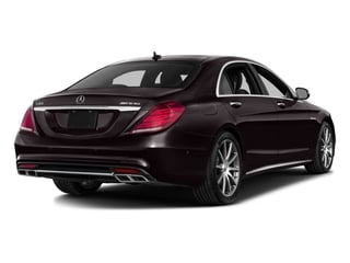 Ruby Black Metallic 2016 Mercedes-Benz S-Class Pictures S-Class 4 Door Sedan Rear Wheel Drive photos rear view