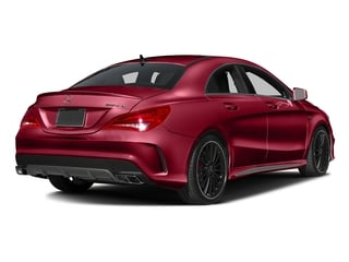 Jupiter Red 2016 Mercedes-Benz CLA Pictures CLA Sedan 4D CLA45 AMG AWD I4 Turbo photos rear view
