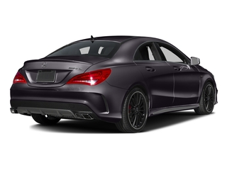 Northern Lights Violet Metallic 2016 Mercedes-Benz CLA Pictures CLA Sedan 4D CLA45 AMG AWD I4 Turbo photos rear view