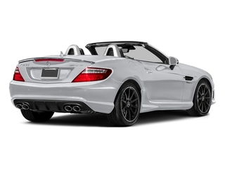 Polar White 2016 Mercedes-Benz SLK Pictures SLK Roadster 2D SLK55 AMG V8 photos rear view