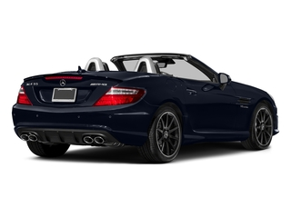 Lunar Blue Metallic 2016 Mercedes-Benz SLK Pictures SLK Roadster 2D SLK55 AMG V8 photos rear view