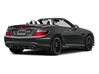 Selenite Grey Metallic 2016 Mercedes-Benz SLK Pictures SLK Roadster 2D SLK55 AMG V8 photos rear view