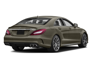 designo Magno Sintered Bronze (Matte) 2016 Mercedes-Benz CLS Pictures CLS Sedan 4D CLS63 AMG S AWD V8 photos rear view