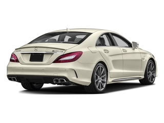 designo Diamond White Metallic 2016 Mercedes-Benz CLS Pictures CLS Sedan 4D CLS63 AMG S AWD V8 photos rear view