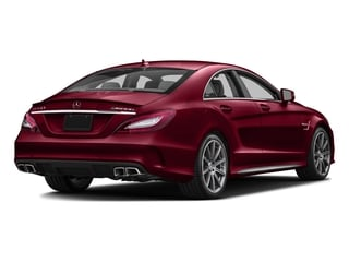 designo Cardinal Red Metallic 2016 Mercedes-Benz CLS Pictures CLS Sedan 4D CLS63 AMG S AWD V8 photos rear view