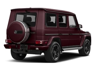 Almandine Black Metallic 2016 Mercedes-Benz G-Class Pictures G-Class 4 Door Utility 4Matic photos rear view