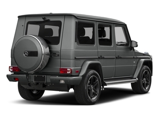 Palladium Silver Metallic 2016 Mercedes-Benz G-Class Pictures G-Class 4 Door Utility 4Matic photos rear view