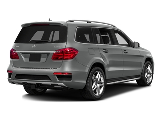 Palladium Silver Metallic 2016 Mercedes-Benz GL Pictures GL Utility 4D GL350 BlueTEC 4WD V6 photos rear view