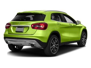 Kryptonite Green Metallic 2016 Mercedes-Benz GLA Pictures GLA Utility 4D GLA250 AWD I4 Turbo photos rear view