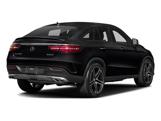 Black 2016 Mercedes-Benz GLE Pictures GLE Utility 4D GLE450 Sport Coupe AWD V6 photos rear view