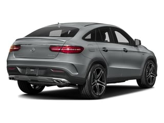 Iridium Silver Metallic 2016 Mercedes-Benz GLE Pictures GLE Utility 4D GLE450 Sport Coupe AWD V6 photos rear view