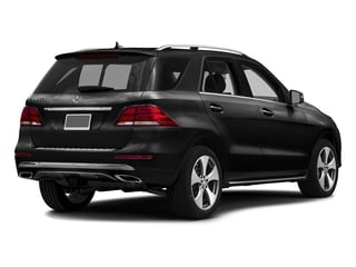 Obsidian Black Metallic 2016 Mercedes-Benz GLE Pictures GLE Utility 4D GLE350 AWD V6 photos rear view