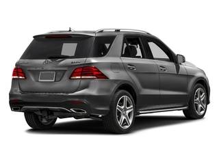 Steel Gray Metallic 2016 Mercedes-Benz GLE Pictures GLE Utility 4D GLE400 AWD V6 photos rear view
