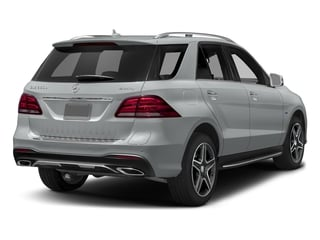 Iridium Silver Metallic 2016 Mercedes-Benz GLE Pictures GLE Utility 4D GLE550 Plug-In AWD V6 photos rear view