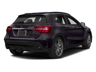Northern Lights Violet Metallic 2016 Mercedes-Benz GLA Pictures GLA Utility 4D GLA45 AMG AWD I4 Turbo photos rear view