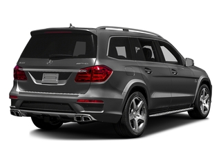 Steel Gray Metallic 2016 Mercedes-Benz GL Pictures GL Utility 4D GL63 AMG 4WD V8 photos rear view
