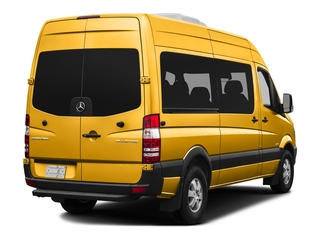 Calcite Yellow Metallic 2016 Mercedes-Benz Sprinter Passenger Vans Pictures Sprinter Passenger Vans Passenger Van photos rear view