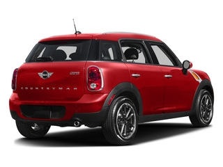 Chili Red 2016 MINI Cooper Countryman Pictures Cooper Countryman Wgn 4D Countryman JCW AWD I4 Turbo photos rear view