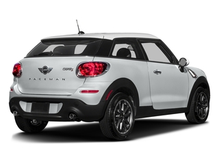 Light White 2016 MINI Cooper Paceman Pictures Cooper Paceman Coupe 2D Paceman JCW AWD I4 Turbo photos rear view