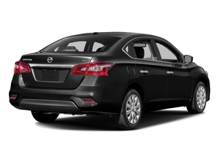 Super Black 2016 Nissan Sentra Pictures Sentra Sedan 4D SV I4 photos rear view