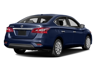 Deep Blue Pearl 2016 Nissan Sentra Pictures Sentra Sedan 4D SV I4 photos rear view