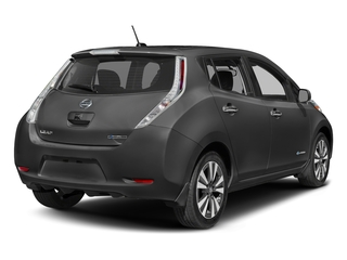 Gun Metallic 2016 Nissan LEAF Pictures LEAF Hatchback 5D SV Electric photos rear view