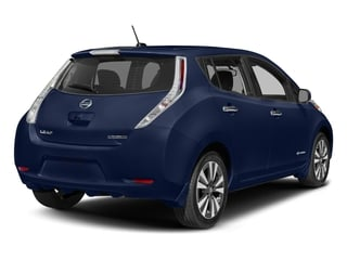 Deep Blue Pearl 2016 Nissan LEAF Pictures LEAF Hatchback 5D SV Electric photos rear view