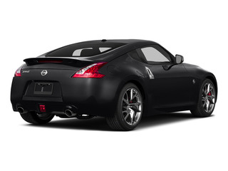 Magnetic Black 2016 Nissan 370Z Pictures 370Z Coupe 2D V6 photos rear view