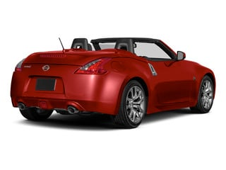 Magma Red 2016 Nissan 370Z Pictures 370Z Roadster 2D Touring Sport V6 photos rear view
