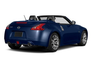 Deep Blue Pearl 2016 Nissan 370Z Pictures 370Z Roadster 2D Touring Sport V6 photos rear view