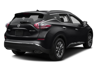 Magnetic Black Metallic 2016 Nissan Murano Pictures Murano Utility 4D S 2WD V6 photos rear view