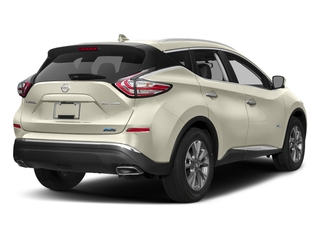 Pearl White 2016 Nissan Murano Pictures Murano Utility 4D SL 2WD I4 Hybrid photos rear view