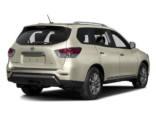 Pearl White 2016 Nissan Pathfinder Pictures Pathfinder Utility 4D Platinum 4WD V6 photos rear view