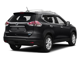 Magnetic Black 2016 Nissan Rogue Pictures Rogue Utility 4D SV AWD I4 photos rear view